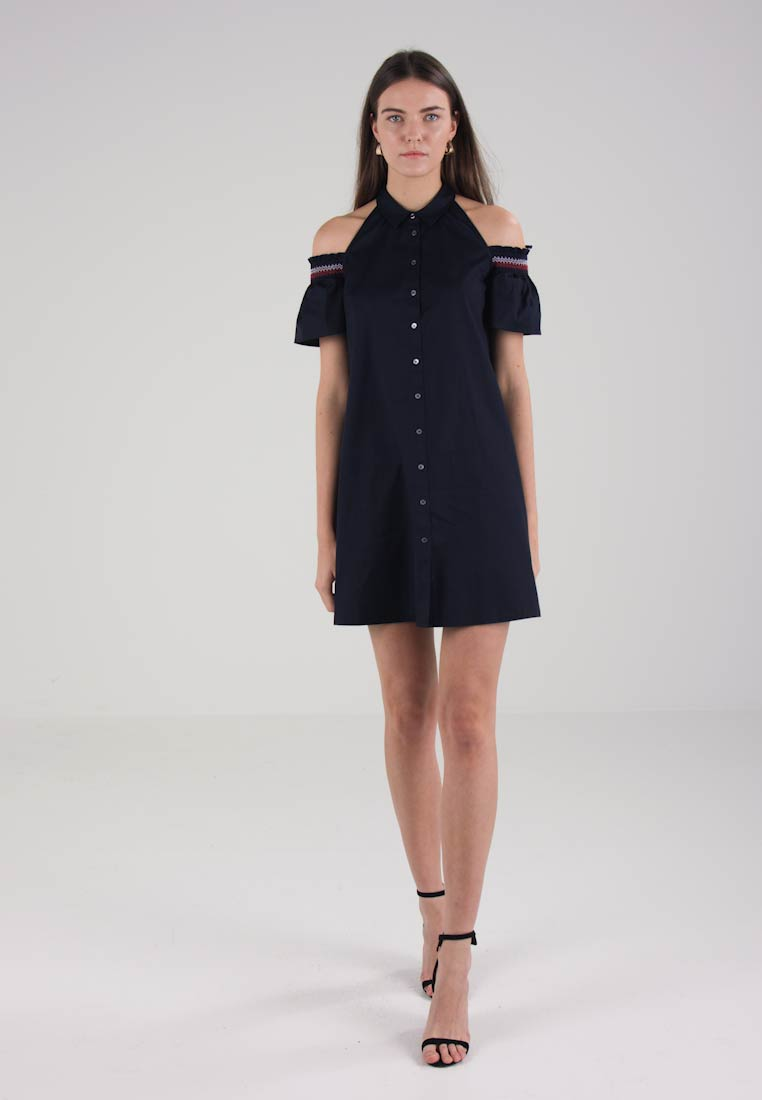 Tommy Hilfiger HELENE DRESS  - Robe chemise - blue