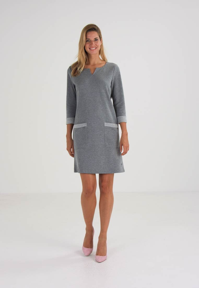 TOM TAILOR Vestido ligero light frost grey
