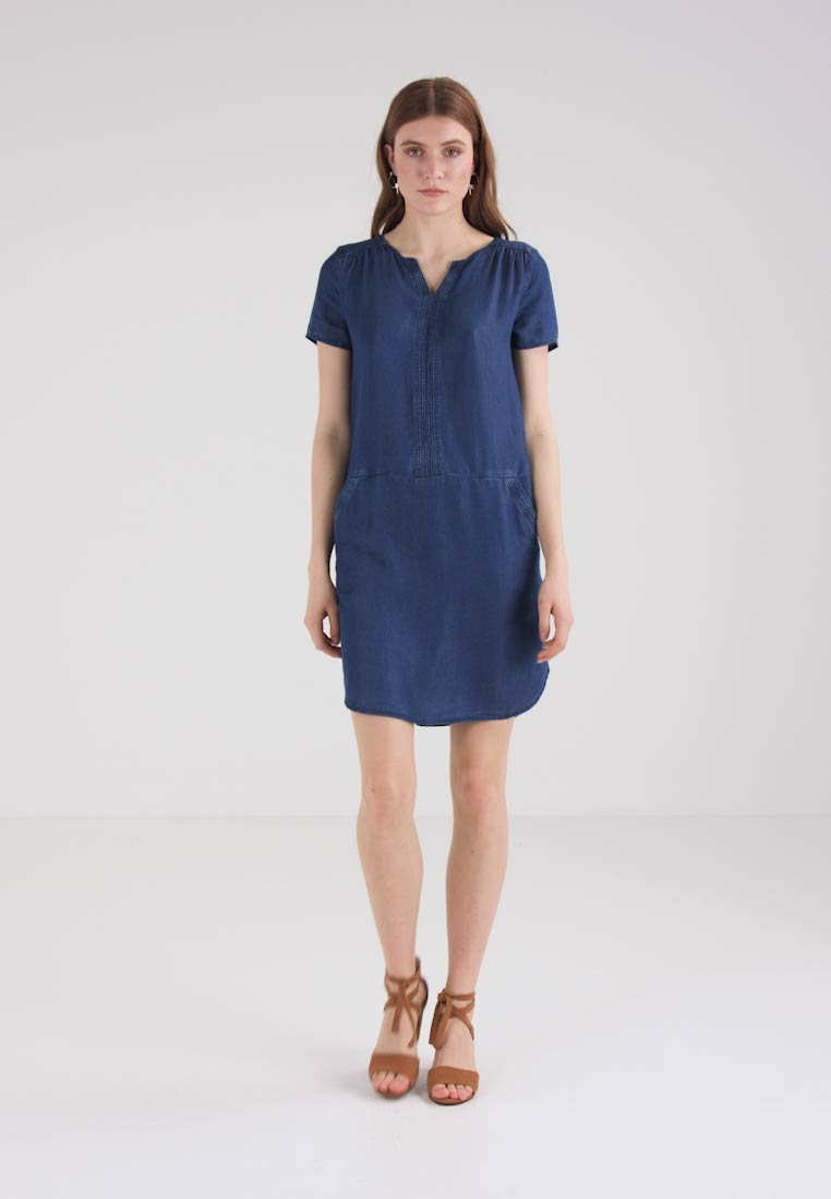 TOM TAILOR CASUAL DRESS ONE - Robe en jean - blue denim
