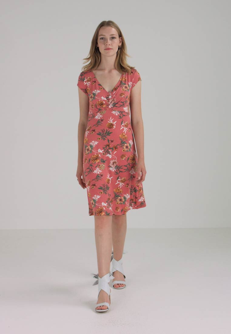 Rose Tailor Jersey Tom Dress Casual Faded FvwXaR