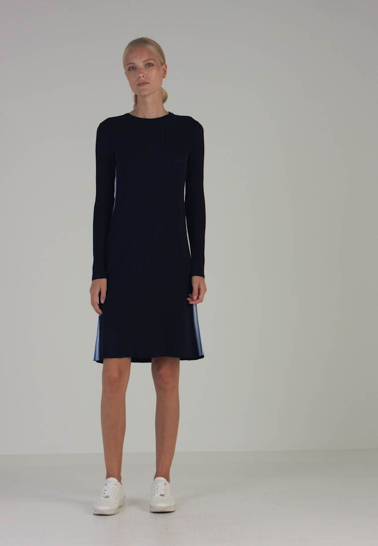 Line Navy Tom A Day Tailor Dress Blue Real OwagEvxq