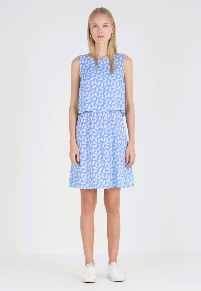 TOM TAILOR - 2 IN 1  - Vestido informal - blue