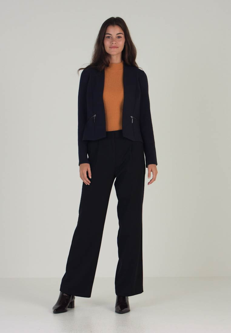 Blu Denim Montato Tom Reale Tailor Navy Colletto Giacca FHy6X