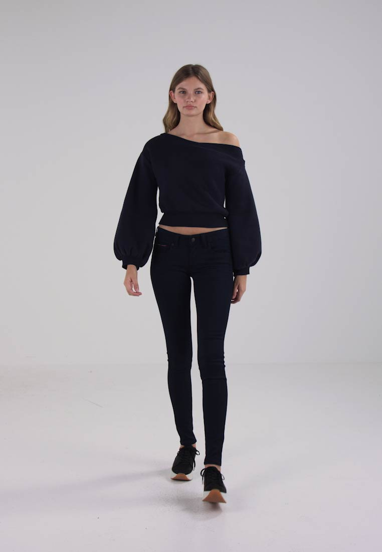 Tommy Jeans - LOW RISE SKINNY SOPHIE  - Jeans Skinny Fit - boogie blue stretch