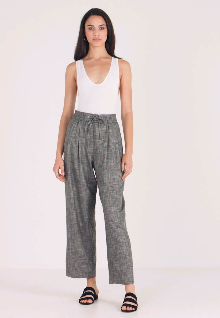 Topshop - SALT PEPPER JOGGER - Jogginghose - monochrome