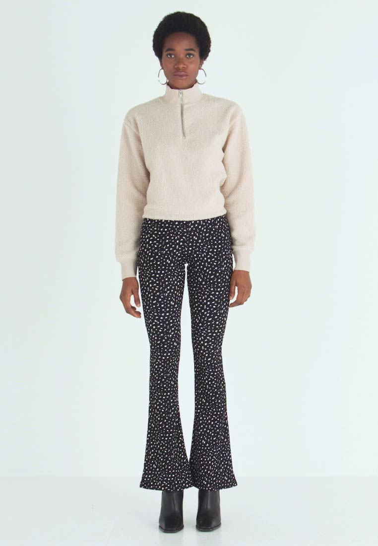 Topshop - DITSY FLARE - Trousers - mon