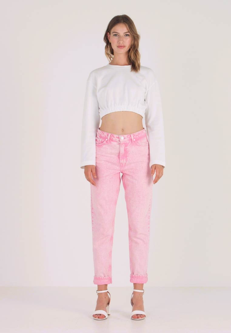 Topshop - ACID - Jeans Relaxed Fit - pink