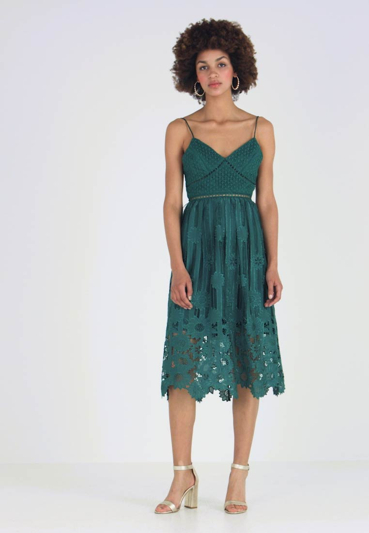 True Decadence - Ballkleid - dark green