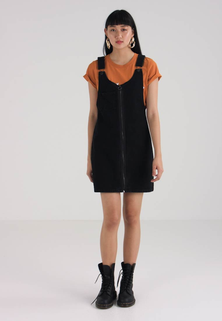 Twintip Official Denim Dress Black Site OwBqgwnv