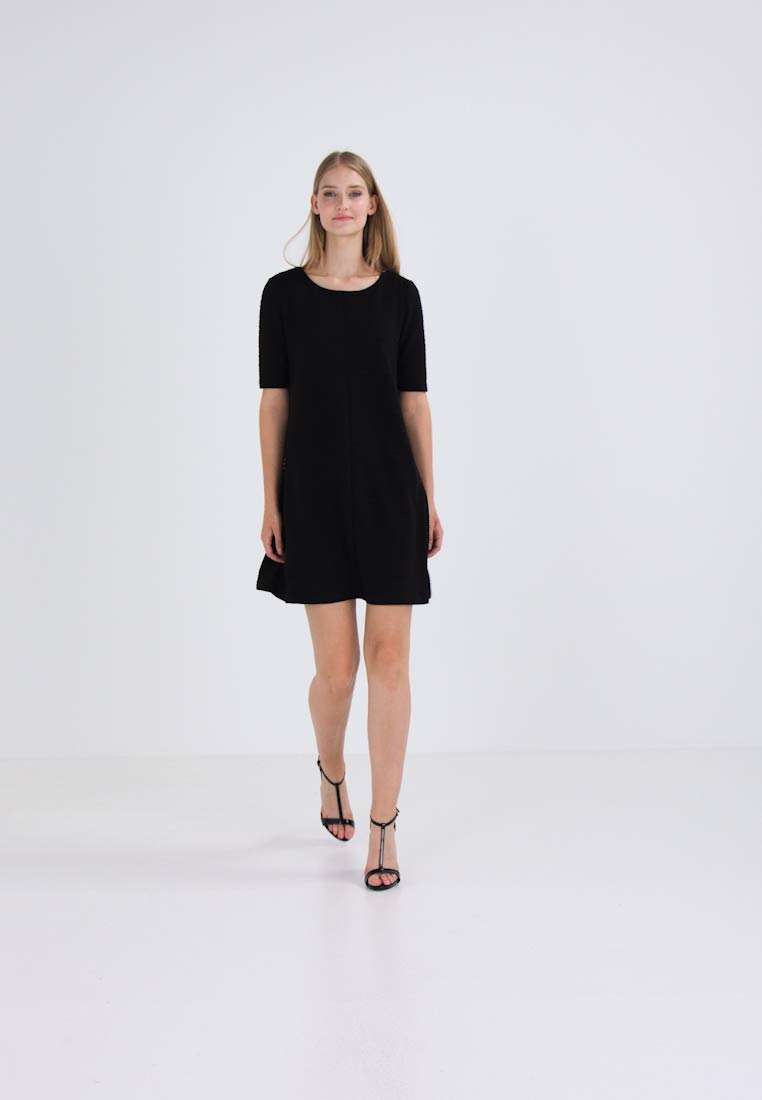A Shape Vila Black Vicaro Dress Jersey p1YOqq5Rw