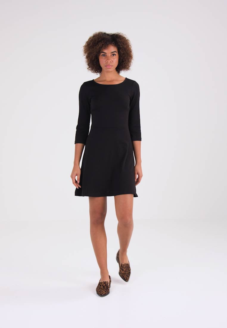 Vila VICINDY - Jerseykjole black