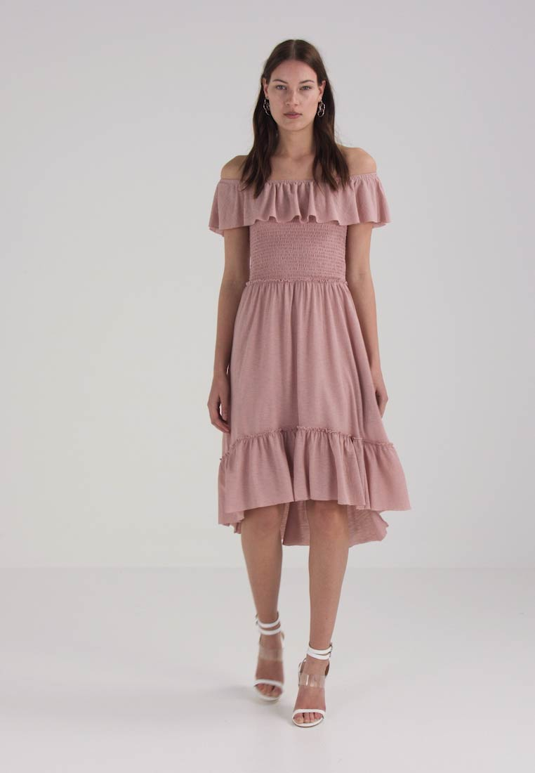 Vila VIPETRA DRESS - Sommerkjole - adobe rose
