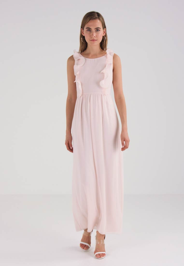 Blush Peach Visaselina Wear Dress Occasion Vila wxX8CPn