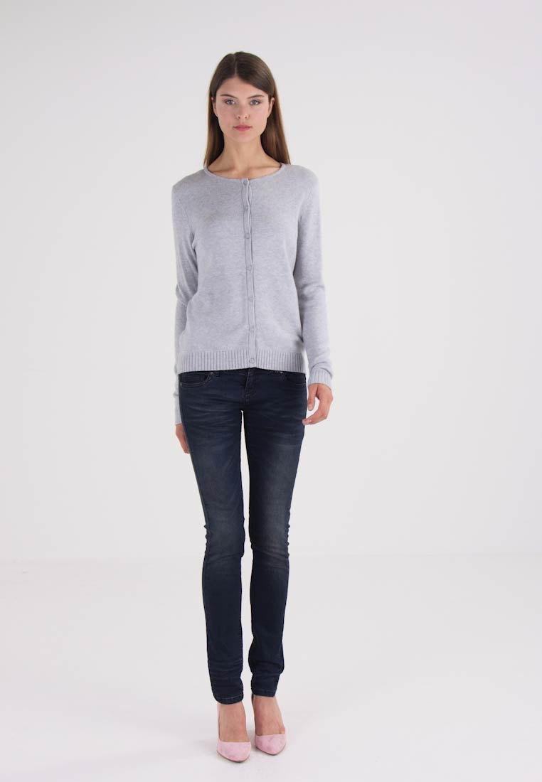 Vila VIRIL  - Cardigan - light grey melange