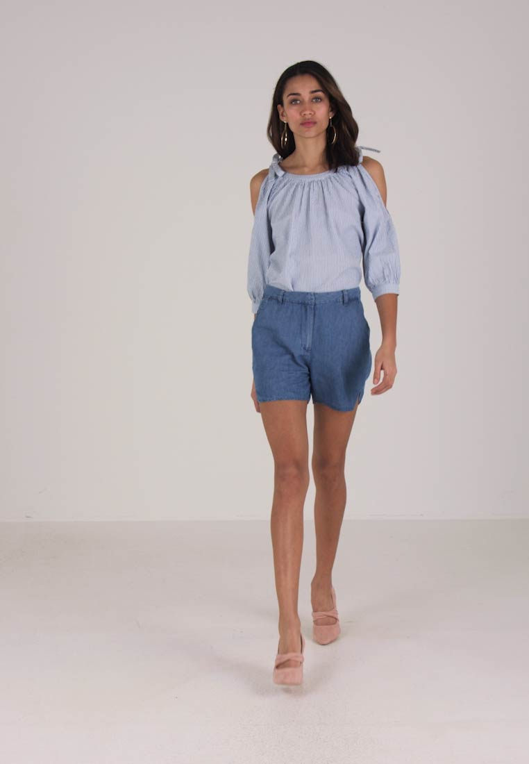 Medium Vila Viliama Blue Denim Shorts xqnHPwZC