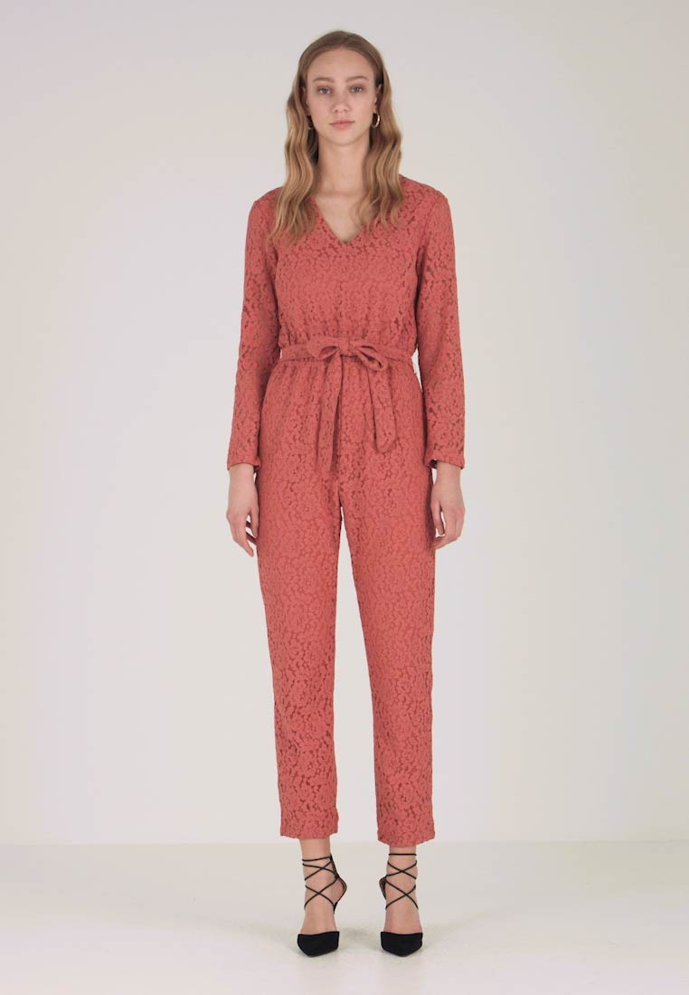 Vila - VILUXOR - Jumpsuit - dusty cedar
