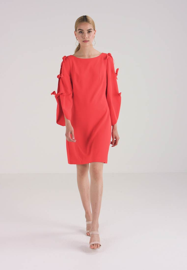 DRESS BELL Vince PONTE SLEEVE TIE Sommerkjole Camuto xqF4CX