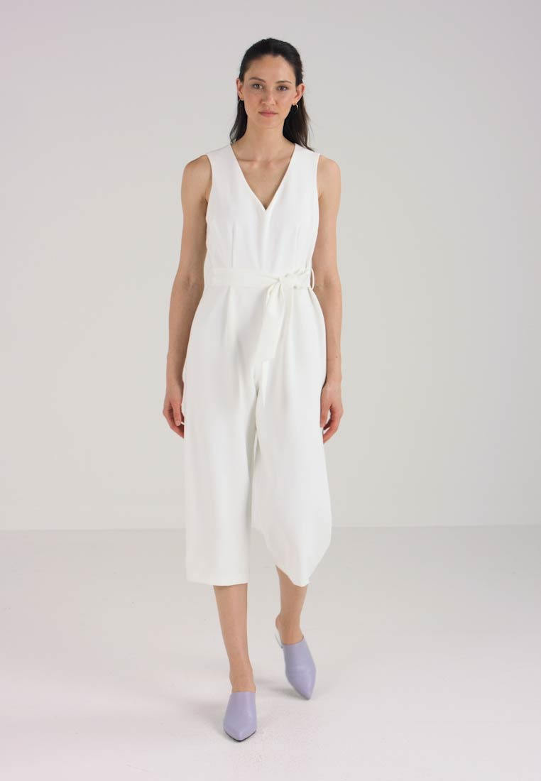 Ivory Camuto Base Belted Jumpsuit Vince New XAwRxwU6