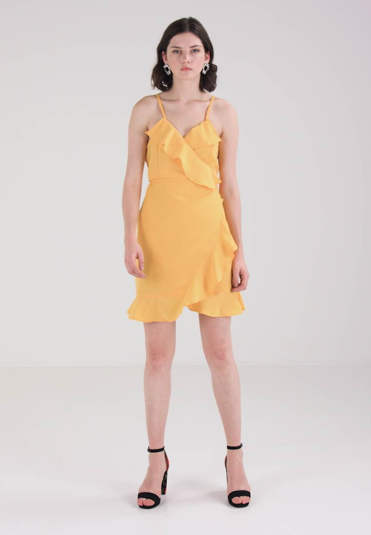 Dress Wrap Vmvolly Spectra Day Vero Singlet Yellow Moda wqptxaSWZI