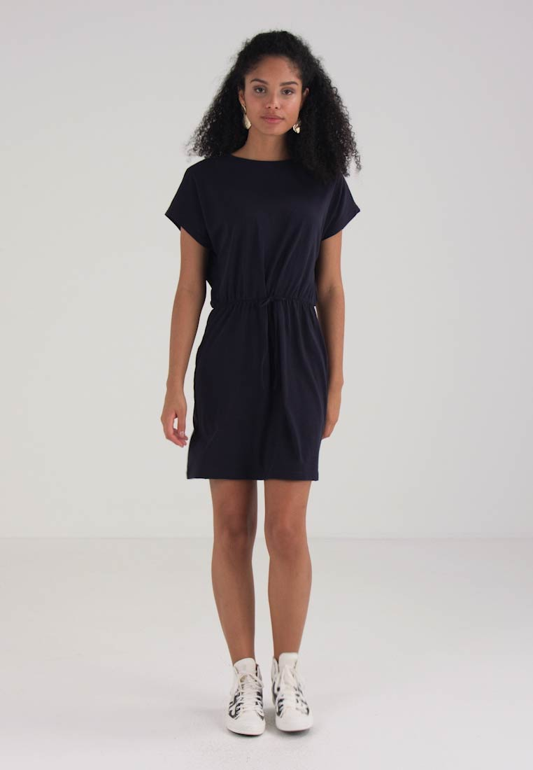 Vero Blue Dress Jersey Vmrebecca Moda Dark OxwZrOq4X