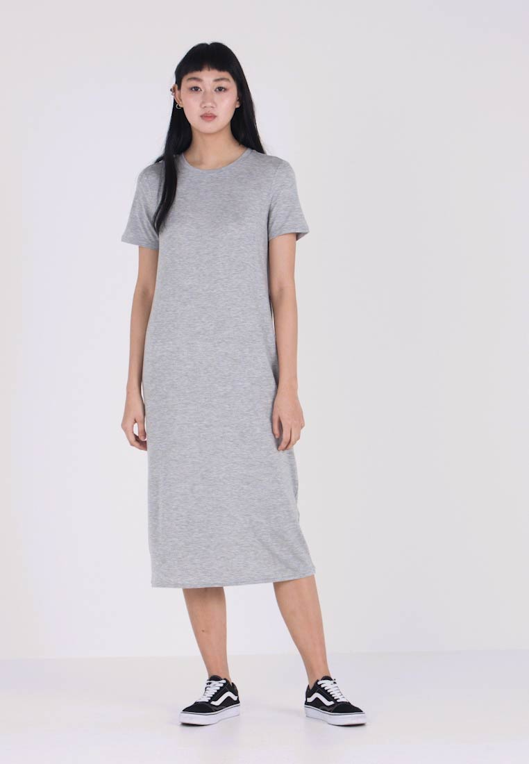 Vero Moda - Jerseyjurk - light grey melange