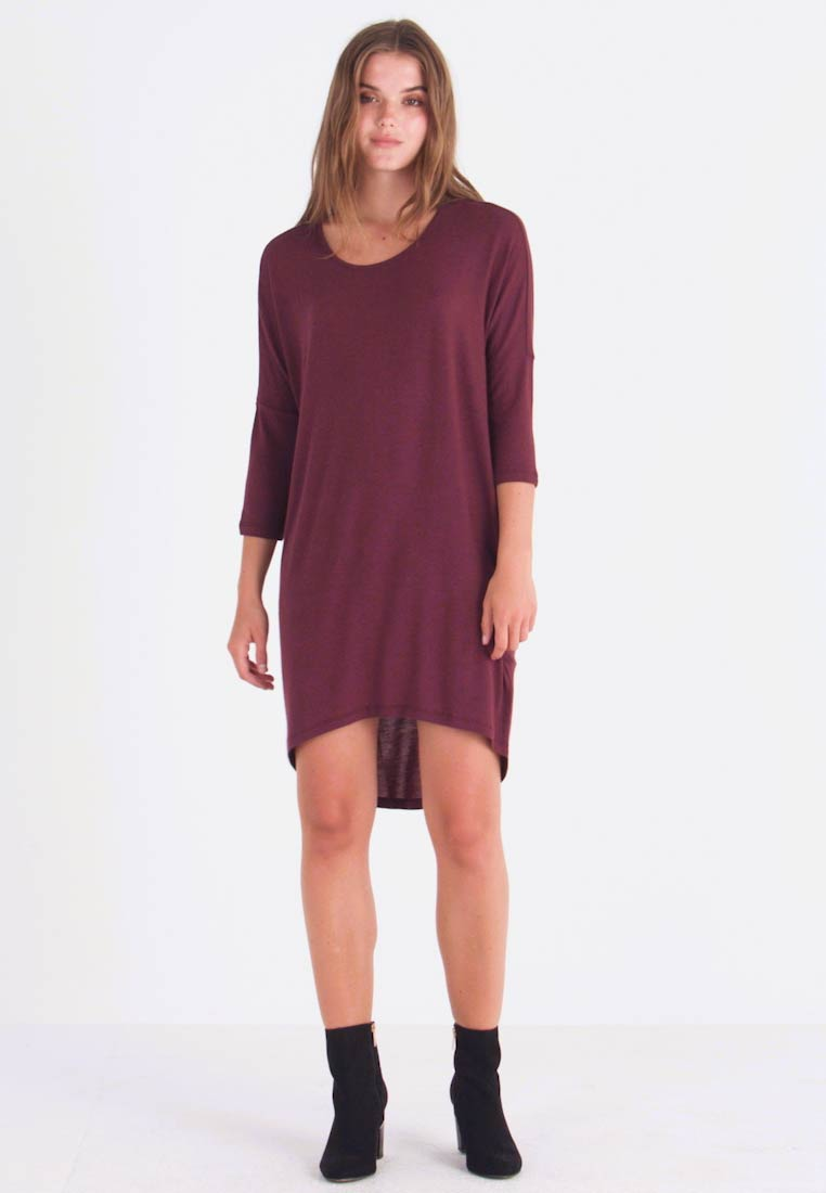 Vero Moda - VMKIA HONIE LOOSE LONG - Jerseykleid - port royale