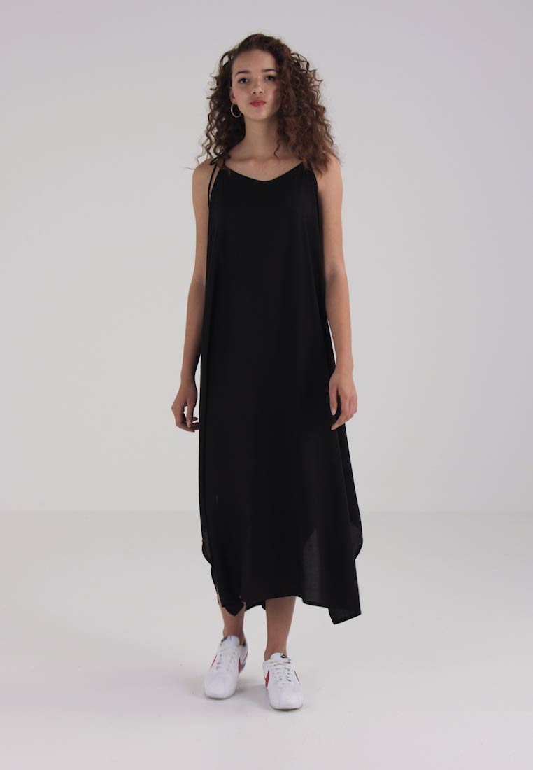 Strap Maxi Moss Dress Black Weekday ZBqS0PWU