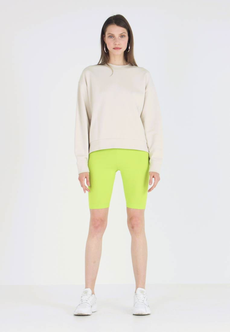 Weekday - HUGE CROPPED - Sweatshirt - light beige