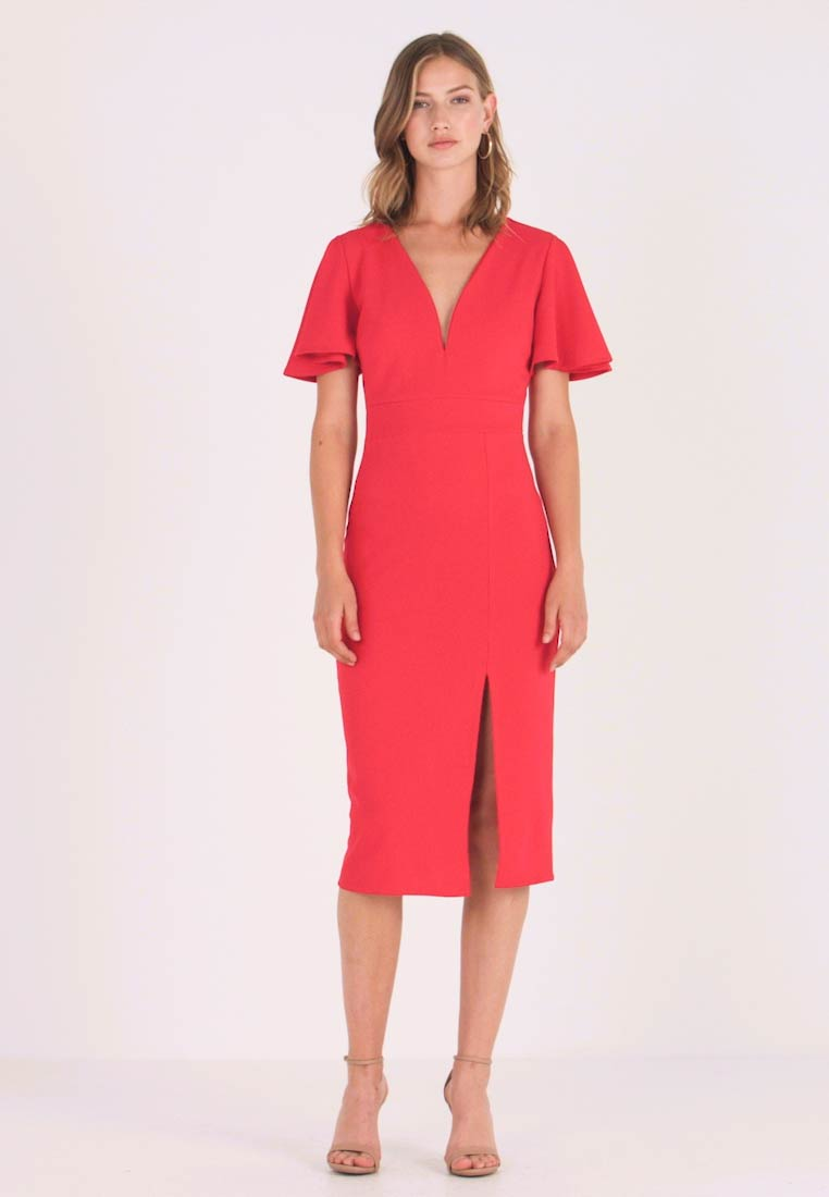 WAL G. - Shift dress - red