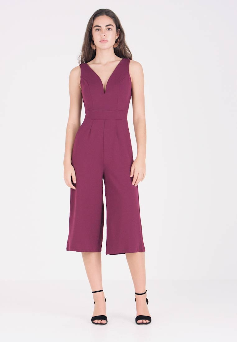Culotte Culotte Wal Wal Plum G G Wal Jumpsuit Jumpsuit Plum n0xaAAvt