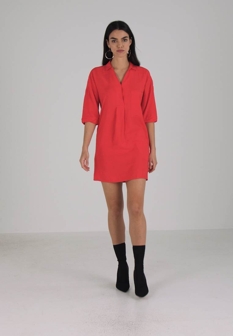 Whistles LEA POCKET DRESS - Kjole - red