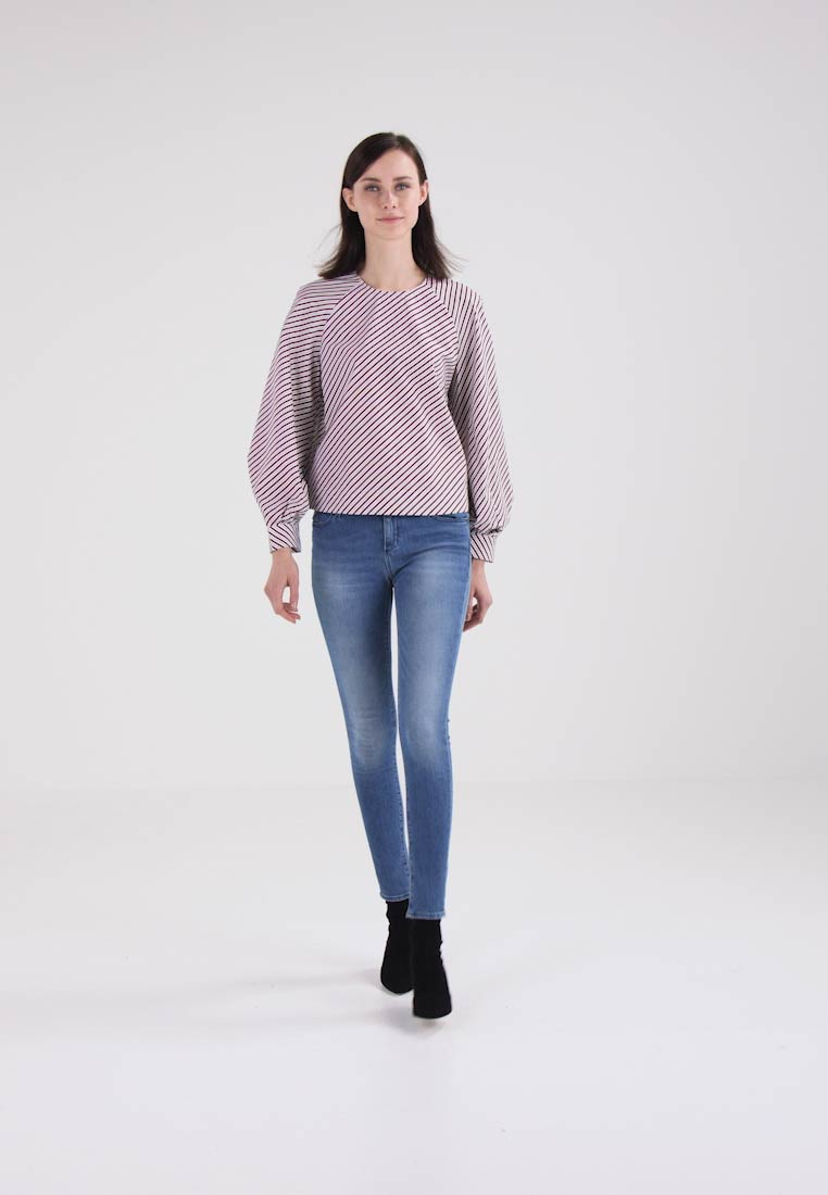 Whistles STRIPE BELL CUFF - Blouse