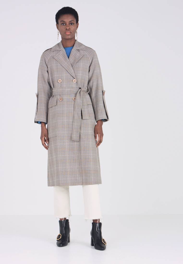 Multicolour Whistles Trenchcoat Check Trenchcoat Check Whistles Trenchcoat Whistles Multicolour Check qSXvxwg