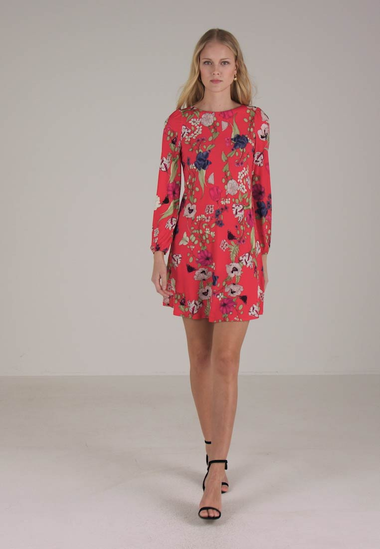 SWING FLOWER Wallis ORIENTAL Jerseykjole DRESS PETAL RWn8vE