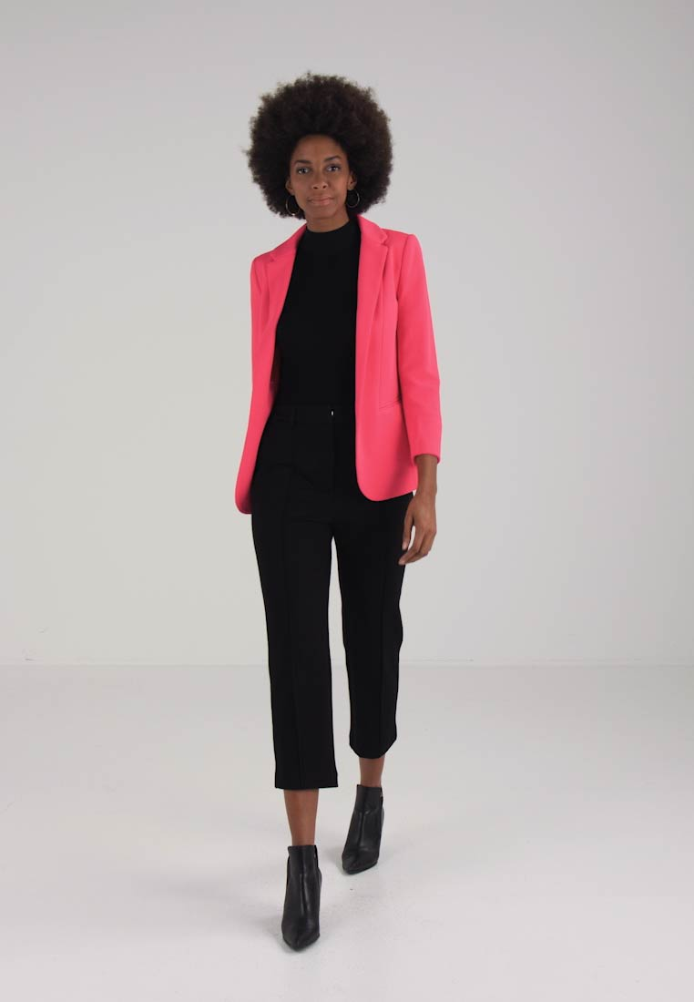 Wallis PONTE TURN BACK CUFF  - Blazer - fuschia