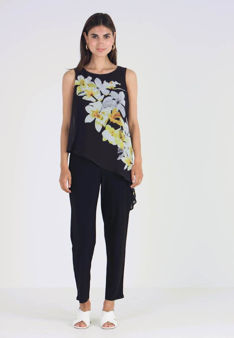 Wallis - LEMON ORCHID OLAYER - Jumpsuit - black