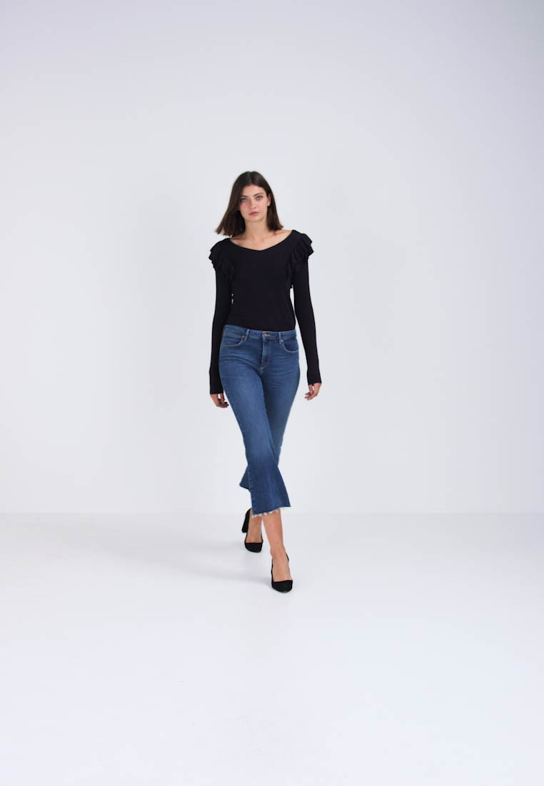 Wrangler CROPPED FLARE - Flared jeans dancing days