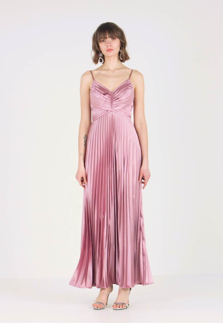 Pleated Dusty Rose Yaskaren Dress Ballkleid Yas 5B4Waqgg