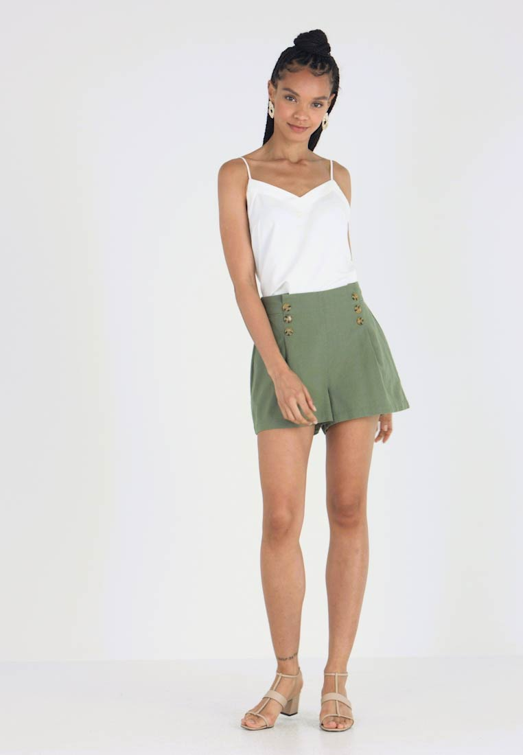 YAS - YASDATTO ICONS - Shorts - deep lichen green