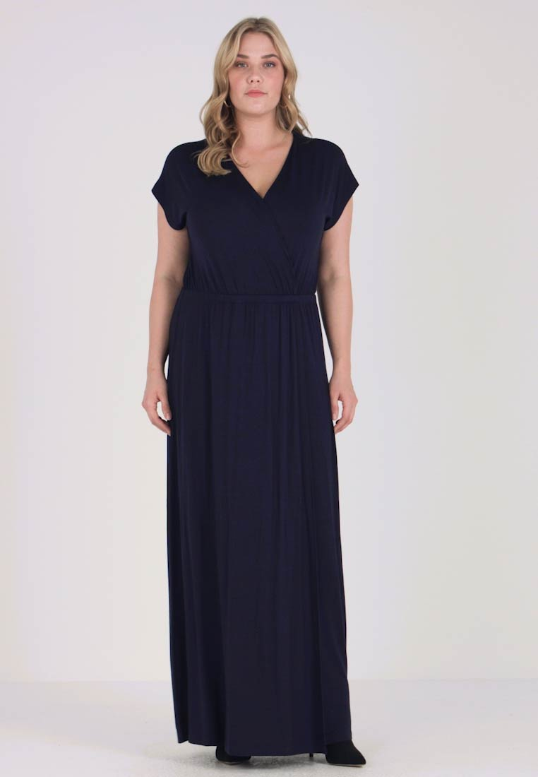 Zalando Maxi Jurk.Zalando Essentials Curvy Maxi Dress Maritime Blue Zalando Co Uk